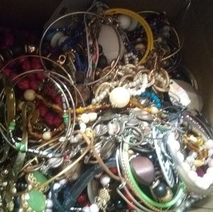 Costume jewelry lot vintage and modern